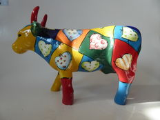 Cow made of ceramics, designer is unknown to me