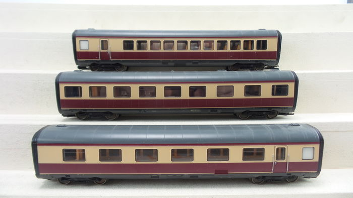 Trix H0 - 23353 - Expander set for the Intercity train set VT11.5 of the DB