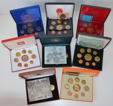 World – Pattern sets from various European countries (8 different sets) 2003-2004