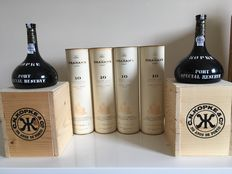 4x Graham's 10 years Tawny Port in Original Packaging (0.75L) & 2x Kopke Special Reserve Port Special Edition (0.5L) in OWC - 6 bottles