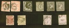 South Afrika 1870/1953 - a small collection on stock cards