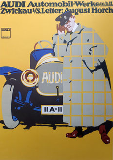 Ludwig Hohlwein - Audi Automobile Works -1912/1980s