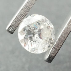 0.49ct Diamond, Color E, SI2, Cert