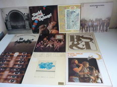 Excellent Jazz Rock lot with 8 Blood, Sweat & Tears albums (all major albums are present) , plus 2 David Clayton - Thomas solo albums,10 albums in total