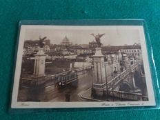Lot of 110 postcards of Lazio (Italy), small and large format.