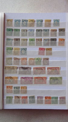 France 1860/2005 – Collection of nearly 1,400 stamps