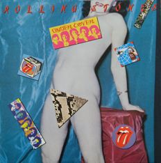 The Rolling Stones - A Lot of 8 LP records including 1 double album