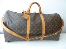 ouis Vuitton – Vintage Keepall 60 with shoulder strap, bandoulliere