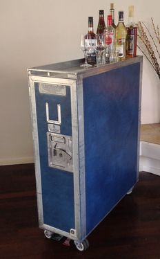 KLM – catering trolley, double sized.