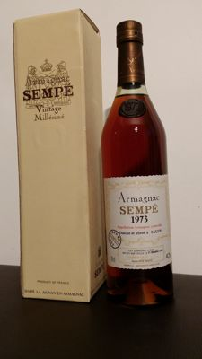 Armagnac Sempé - vintage 1973 - 20 years old