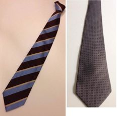 Hermès and  Marinella - 2 Ties