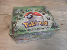 Pokemon - Sealed WOTC JUNGLE 1st edition Booster Box - 36 Packs - Pokemon Cards (1999/2000)