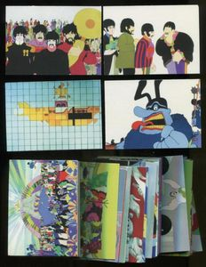 The Beatles - Yellow Submarine - Complete Set 72 Cards