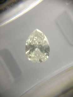 0.88 ct Pear cut diamond G SI2