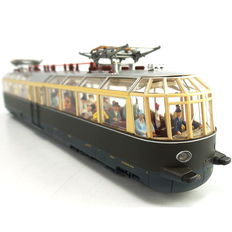 Märklin H0 - 37582 – Glass train with figures and interior lighting of the DRG