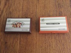 Nintendo Game & Watch Donkey Kong 1 and 2