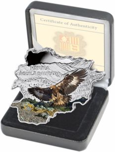 Andorra - 10 Diners - golden Eagle 2013 in colour - PP - 1 piece of 1 oz with box & certificate - edition of 3000 pieces.