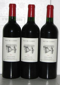 2001 Roc de Cambes, Côtes de Bourg, Domaine Mitjavile, batch of 3 bottles