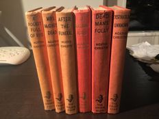 Agatha Christie - Lot of 6 first editions - 1952/1965
