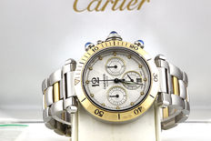 Cartier Pasha Chronograph Ref. 2113 - Unisex watch from 2001