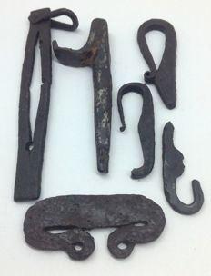iron fire lighters Viking period - 50 \ 130mm(6)