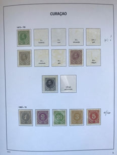 Curaçao and Netherlands Antilles 1873/1974 – Collection in Davo LX album