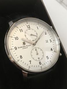 "Edward East ""Chronograph"" -- men's wristwatch -- 2017 -- unworn, mint condition."