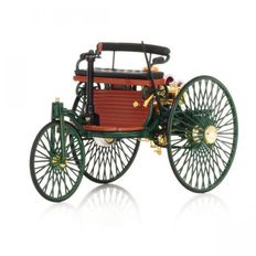 Norev - Scale 1/18 - Benz Patent-Motorwagen 1886 - Colour green