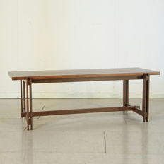 Unknown designer – coffee table in teak wood