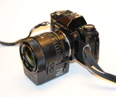 Olympus OM40 Program with special Olympus Autofocus 35-70