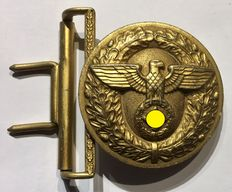 WW II Field bind weed lock for a political leader