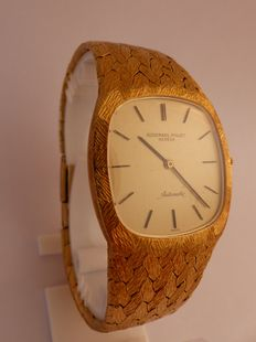 Audemars Piguet - Extra-flat gold wristwatch for men - From 1960/70