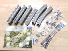 Roco H0 - 61123/61110/61140/61181/42608 – 44-piece lot with rails