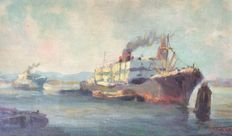 Unknown (20th century)- Cargo ship