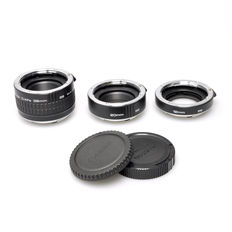 Soligor Extension Tubes for Canon 12mm, 20mm and 36mm (1334)
