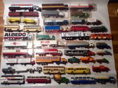 Various - Scale 1/87- Lot with 148 models: Wiking, EFSI, Herpa, Rogo, Hell Man, Brekina, Bayern, RMM and others