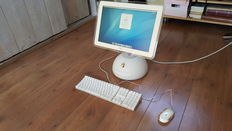 Apple iMac G4 PowerMac (Tournesol) 17''inch, 800Mhz, 768MB Ram, 80 GB HD incl. Original Apple Keyboard + Mouse