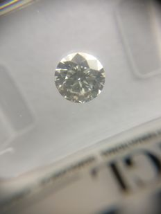 0.57 ct Round cut diamond F VS1