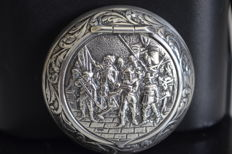 Silver pill box - The Netherlands - First half of 19th century