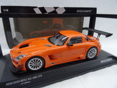 Minichamps - Scale 1/18 - Mercedes-Benz SLS AMG GT3 - Colour: Orange