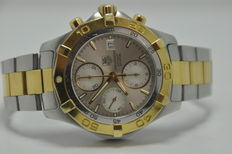 TAG Heuer Aquaracer Chronograph Gold/Steel Automatic Ref. CAF2120 - Men's Watch
