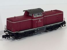 Trix N - 16121 - Diesel locomotive  BR 212 of the DB