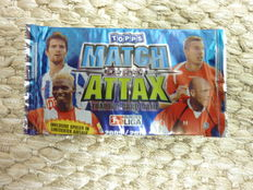 Football -  52 unopened packs of Match Attax