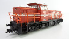 Liliput H0 - L112401 – Diesel locomotive type MAK of HGK