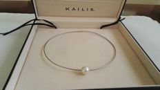 Kailis brand necklace made of Australian pearls, 12 mm, grade 1