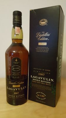 Lagavulin Distillers Edition Double Matured 1987