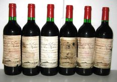 1975 Château La Tour du Roc Milon, Pauillac – Lot of 6 bottles