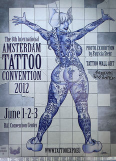 Vince Ruarus - Amsterdam Tattoo Concention - 2012, 2013, 2014, 2015