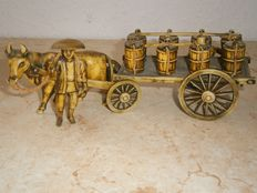 1 Asian carriage made from celluloid - Japan - circa 1940-50