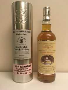 Mortlach 1998 Signatory Vintage - Bottled for Waldhaus am See, St. Moritz - 70cl - 16 years old